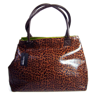 Shopper im Leoparden-Look